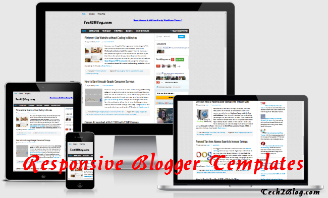 6 Free & Tested Responsive Blogger Templates