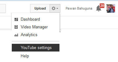 how to create additional youtube channels