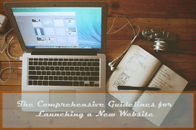 The Comprehensive Guidelines for Launching a New Website