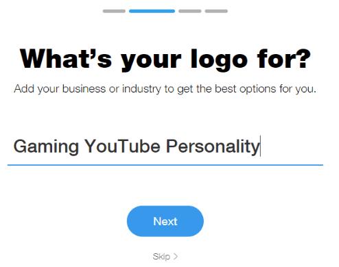 Wix Purpose of logo