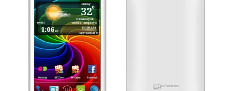 micromax smarty A65 Android Phone