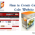How to create coupon code website