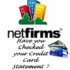 Netfirms credit card statement check