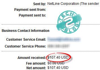 revresponse payment proof