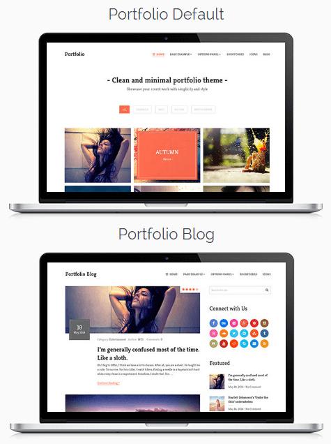 Portfolio Responsive WordPress Theme