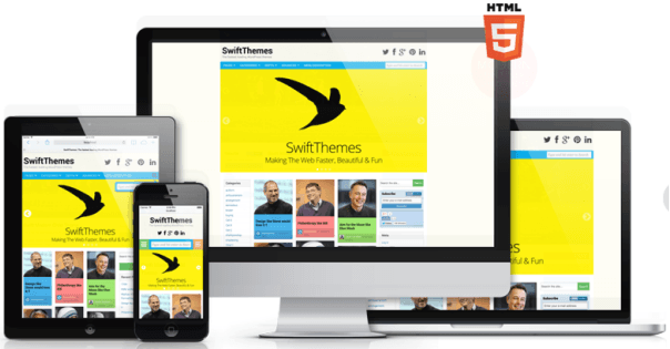SWIFT Responsive WordPress Theme