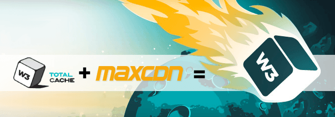 Increase website speed using W3TotalCache with MaxCDN