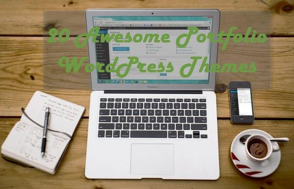 20 Awesome Portfolio WordPress Themes