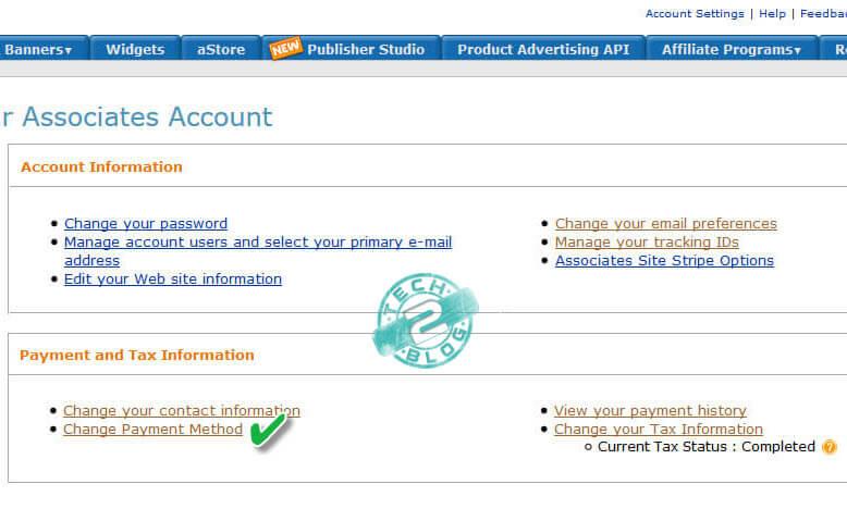 Amazon Account setting