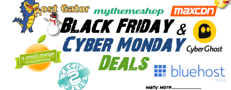 Black Friday & Cyber Monday Deals