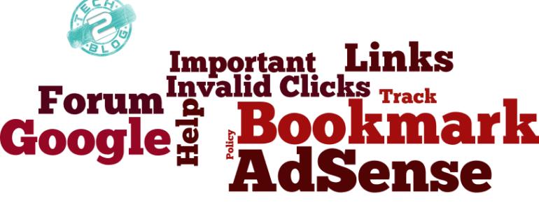 Important Google Adsense Links to Bookmark