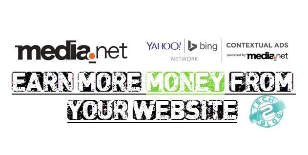 Media.net Yahoo Bing Network earn money from website