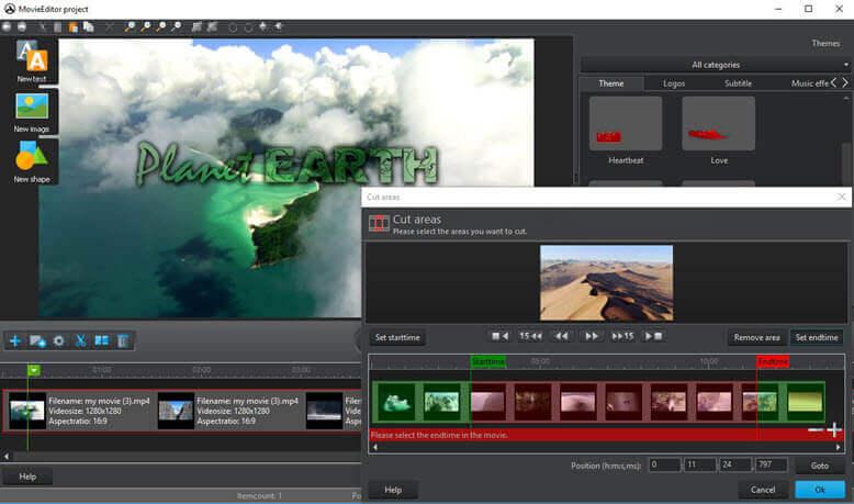 Ashampoo Burning Studio 18 Movie Editor