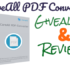 Giveaway & Review of iCareAll PDF Converter