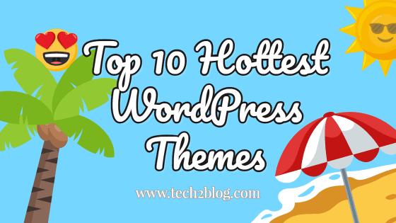 Top 10 Hottest WordPress Themes