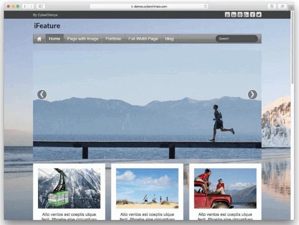 WordPress Theme iFeature