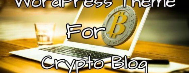 WordPress Theme for Crypto Blogs