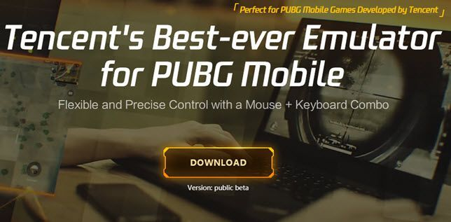 PUBG mobile official emulator by Tencent