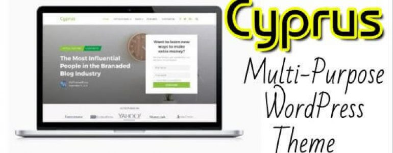 Cyprus WordPress Theme