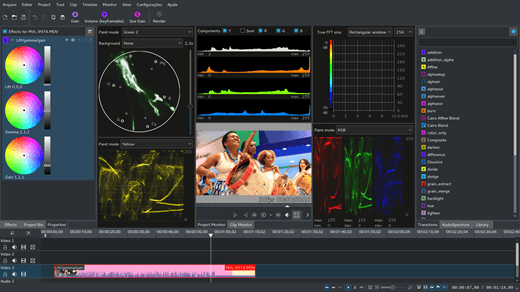 Kdenlive Free Video Editing Software for Linux