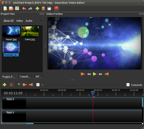 OpenShot Free Video Editing Software for Linux