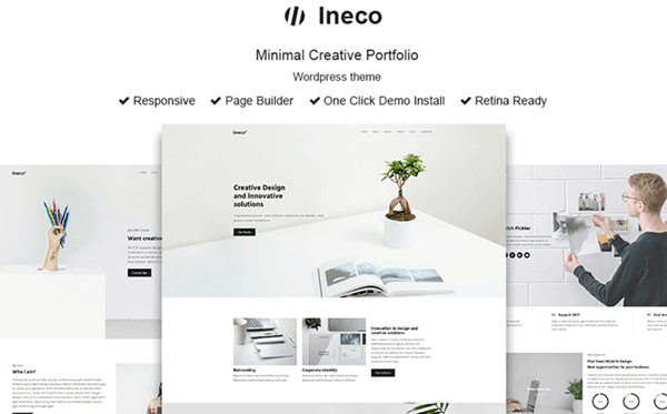Ineco - Minimalist WordPress Theme
