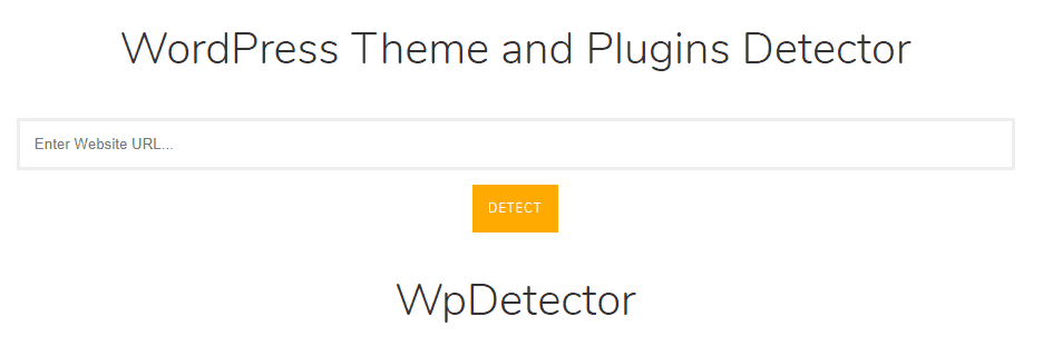 WPDetector