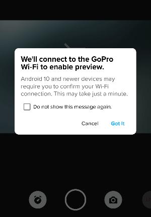 GoPro 9 enable wifi